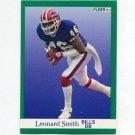 1991 Fleer Football #012 Leonard Smith - Buffalo Bills