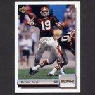 1992 Upper Deck Football Gold #G31 Bernie Kosar - Cleveland Browns
