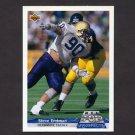 1992 Upper Deck Football Gold #G01 Steve Emtman RC - Indianapolis Colts