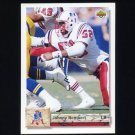 1992 Upper Deck Football #611 Johnny Rembert - New England Patriots