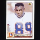 1992 Upper Deck Football #555 Reggie Johnson - Denver Broncos