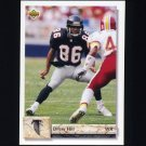 1992 Upper Deck Football #533 Drew Hill - Atlanta Falcons