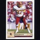1992 Upper Deck Football #523 Brad Edwards - Washington Redskins