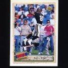 1992 Upper Deck Football #517 Andre Rison SBK - Atlanta Falcons