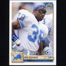 1992 Upper Deck Football #492 Ray Crockett - Detroit Lions