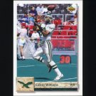 1992 Upper Deck Football #483 Calvin Williams - Philadelphia Eagles
