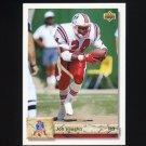 1992 Upper Deck Football #474 Jon Vaughn - New England Patriots