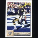 1992 Upper Deck Football #459 Toi Cook - New Orleans Saints