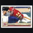 1992 Upper Deck Football #451 Tracy Simien RC - Kansas City Chiefs