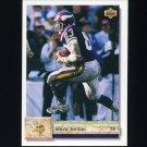 1992 Upper Deck Football #437 Steve Jordan - Minnesota Vikings