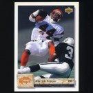 1992 Upper Deck Football #434 Derrick Fenner - Cincinnati Bengals