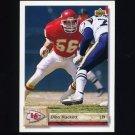 1992 Upper Deck Football #431 Dino Hackett - Kansas City Chiefs