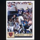 1992 Upper Deck Football #429 Lemuel Stinson - Chicago Bears