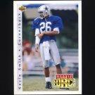 1992 Upper Deck Football #421 Kevin Smith - Dallas Cowboys