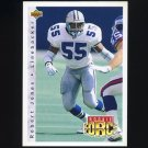 1992 Upper Deck Football #414 Robert Jones RC - Dallas Cowboys