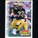 1992 Upper Deck Football #408 Vaughn Dunbar - New Orleans Saints