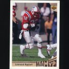 1992 Upper Deck Football #371 Leonard Russell MVP - New England Patriots