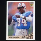 1992 Upper Deck Football #369 Haywood Jeffires MVP - Houston Oilers