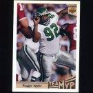 1992 Upper Deck Football #363 Reggie White MVP - Philadelphia Eagles
