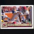 1992 Upper Deck Football #332 Chris Martin - Kansas City Chiefs