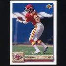 1992 Upper Deck Football #317 Tim Barnett - Kansas City Chiefs