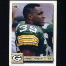 1992 Upper Deck Football #297 Darrell Thompson - Green Bay Packers