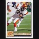 1992 Upper Deck Football #294 Eric Thomas - Cincinnati Bengals
