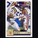 1992 Upper Deck Football #292 Ray Berry - Minnesota Vikings