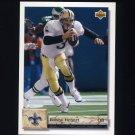 1992 Upper Deck Football #275 Bobby Hebert - New Orleans Saints