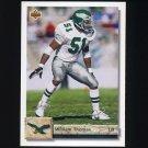 1992 Upper Deck Football #263 William Thomas - Philadelphia Eagles