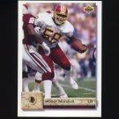 1992 Upper Deck Football #261 Wilber Marshall - Washington Redskins