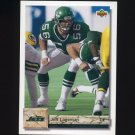 1992 Upper Deck Football #236 Jeff Lageman - New York Jets