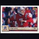1992 Upper Deck Football #228 Hugh Millen - New England Patriots