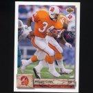 1992 Upper Deck Football #163 Reggie Cobb - Tampa Bay Buccaneers