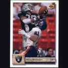 1992 Upper Deck Football #119 Terry McDaniel - Los Angeles Raiders