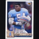 1992 Upper Deck Football #117 Al Smith - Houston Oilers