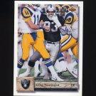 1992 Upper Deck Football #116 Greg Townsend - Los Angeles Raiders