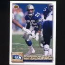 1992 Upper Deck Football #061 Robert Blackmon - Seattle Seahawks