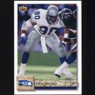 1992 Upper Deck Football #058 Terry Wooden - Seattle Seahawks