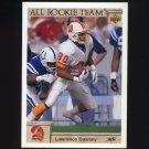 1992 Upper Deck Football #036 Lawrence Dawsey AR - Tampa Bay Buccaneers