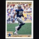 1992 Upper Deck Football #034 Alvin Harper ART - Dallas Cowboys