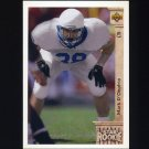 1992 Upper Deck Football #018 Mark D'Onofrio RC - Green Bay Packers