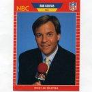 1989 Pro Set Football Announcers #23 Bob Costas