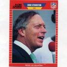1989 Pro Set Football Announcers #19 Dick Stockton