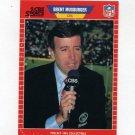 1989 Pro Set Football Announcers #17 Brent Musburger
