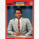 1989 Pro Set Football Announcers #08 John Saunders