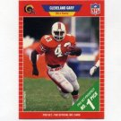 1989 Pro Set Football #499 Cleveland Gary RC - Los Angeles Rams