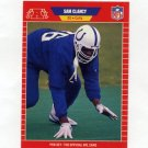 1989 Pro Set Football #457 Sam Clancy RC - Indianapolis Colts