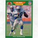 1989 Pro Set Football #404B Curt Warner - Seattle Seahawks