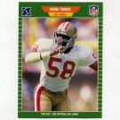 1989 Pro Set Football #385 Keena Turner - San Francisco 49ers